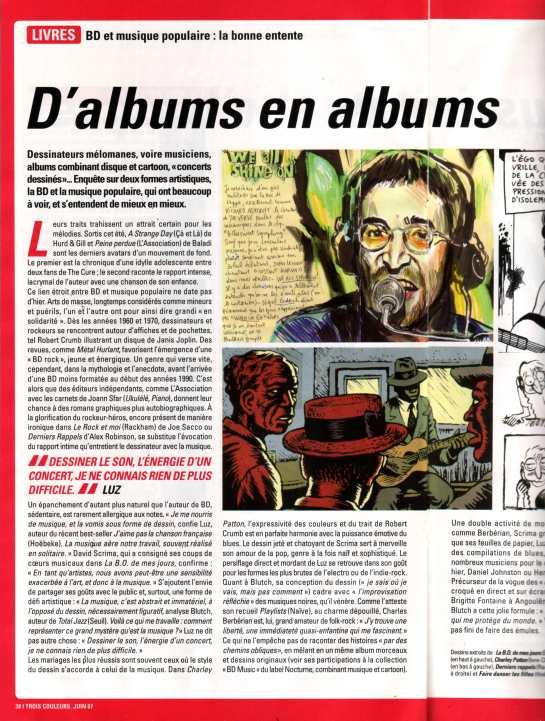 D'albums en Albums (MK2 Magazine)