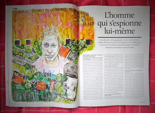 L'homme qui s'espionnait lui-même (Néon Magazine)