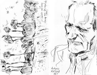 Vincent Van Gogh - Champ de coquelicots / Antonin Artaud - Denise Colomb