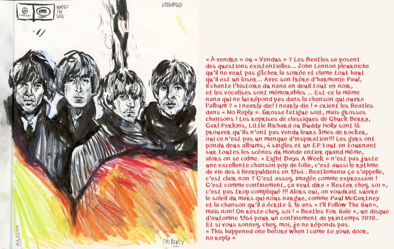 beatles4sale1964+Texte