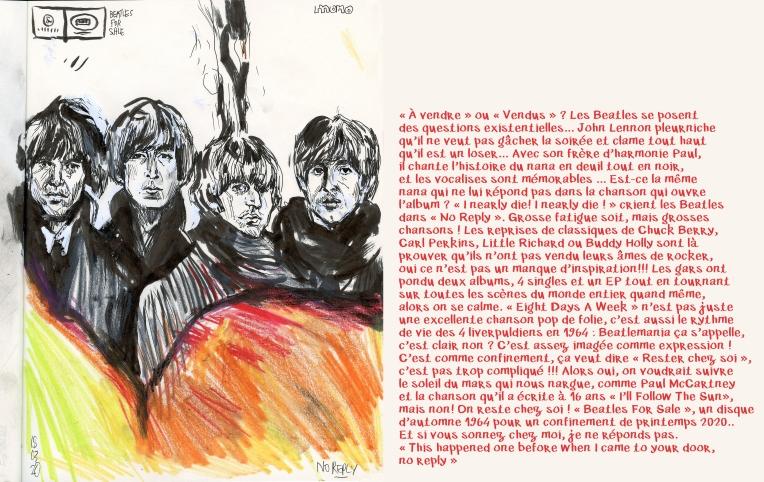 beatles4sale1964+Texte